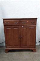Keller Furniture Oak Cabinet, light scratches