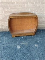 Deco Oak Cabinet, no glass doors or shelf