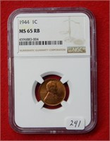 Weekly Coins & Currency Auction 5-14-21