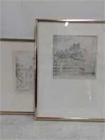 (2) Framed Don Swan Prints
