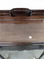 "Mahogany Writing Desk Refinished 26""Hx31""Wx18""D"
