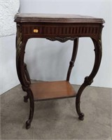 Pr. French Prov. Style Side tables,