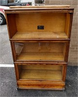 'Macy' Barrister Sectional Book Case, 3 sections