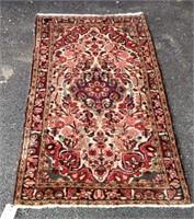 "Small Persian Rug, 5'3"" x 3'3"""