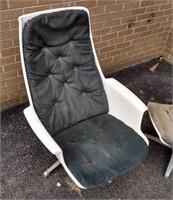 MCM Swedish Chair w/ottoman