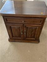 Long Dresser w/Mirror & Night Stand, Ethan Allen