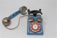Vtg. SPEED PHONE Toy Phone- GONG BELL Mfg