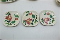 """28Pc RED WING """"BLOSSOM TIME"""" Dinnerware for 4"""