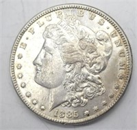 1885 P Morgan Silver Dollar XF45