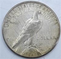 1923 S Silver Peace Dollar XF