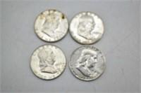 $2.50 Face Value 90% Silver 34, 54, 60, 62 & 1963