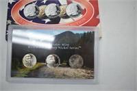2004 D Mint Set & Westward Journey Nickel Set