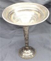 Weighted Sterling Pedestal Compote