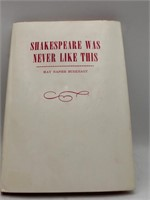 Books: Signed Shakespeare Was Never Like This By