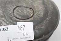 Metal Antique PrimitiveLatching Tin
