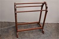 Wooden Quilt or Towel Rack