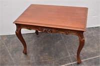 Queen Anne Carved Edges End Table