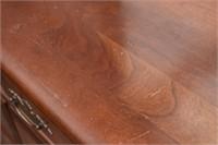 8-Drawer Long Dresser w Metal Pulls & Attached