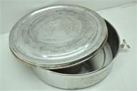 Regal Aluminum Vintage Cake/Pie Carrier