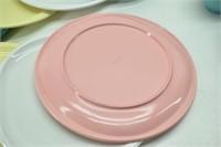 """Vintage """"Boontonware"""" Pastel Dishes 32 pcs."""