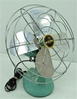 1950's Turqouise Eskimo Fan Model 1005R