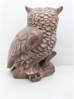 Giant Size Ceramic Owl Statue