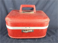 Vtg. Cosmetic Mirrored  Luggage Case - No Brand