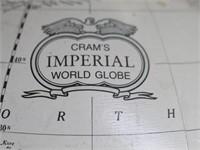 "George F. Cram Co. Classic 12"" Globe-Metal Stand"