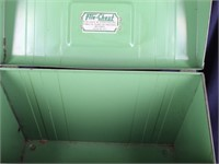 FILE CHEST Union Steel-Metal Lock Box with Key