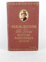 Old Mr. Boston Deluxe Official BARTENDERS Guide