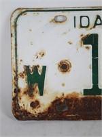 1964 & 1966 IDAHO Famous Potatoes Car Plates