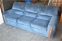 SEALY 3-Cushion Full Size Hide-A-Bed Sofa