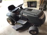 craftsman riding mower, runs good