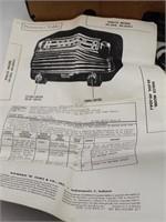 Philco Transitone Model 49-504-I Radio