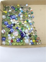 Collection of Marbles & Shooters