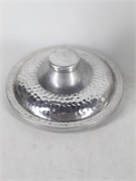 Hammered Aluminum Ice Bucket Made in Italy