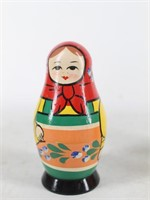 Pair of Russian Style Nesting Dolls
