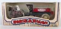ERTL True Value Horse & Wagon Coin Bank