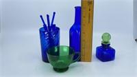 Asst. Vintage Glass Bottles