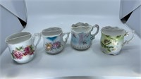 Vintage Tea Cups with Strainers