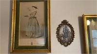 Asst. Vintage Framed Prints