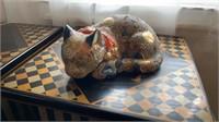 Asian Decor, Plates, Cat