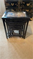 Asian 4-Piece Nesting Tables