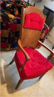 Caned Back Chair