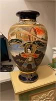 Asian Chinoiserie Vase