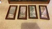 Vintage Poppies Painting & 4 Seasons Prints