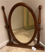 Antique Dresser-top Mirror