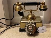 Retro Brass Telephone