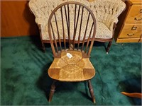 Drop Leaf End Table and Chair
