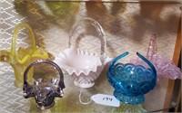 Asst. Glass Baskets